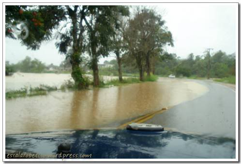 enchente em santa catarina