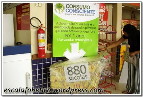 reciclagem de sacolas plasticas