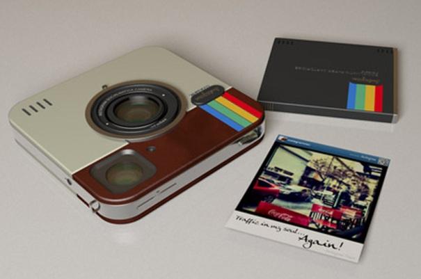 câmera polaroid instagram