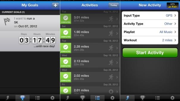 runkeeper app para corrida
