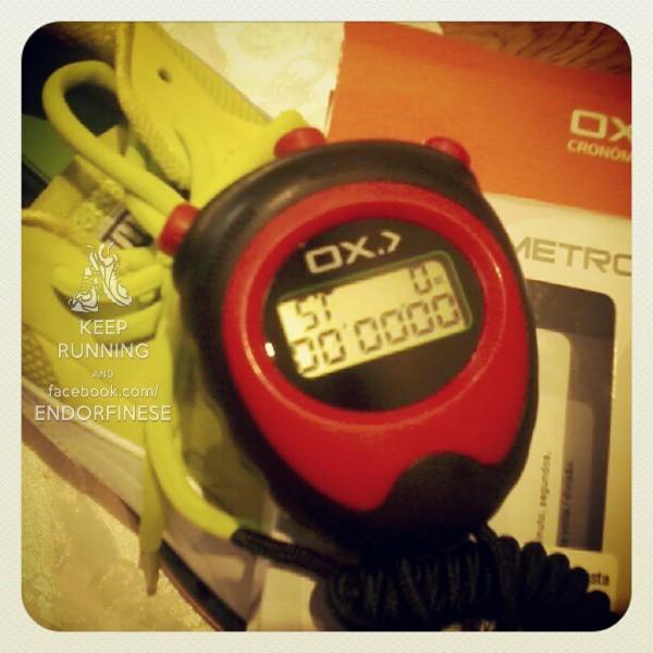 cronometro para corrida
