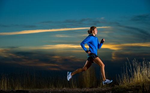 correr no escuro